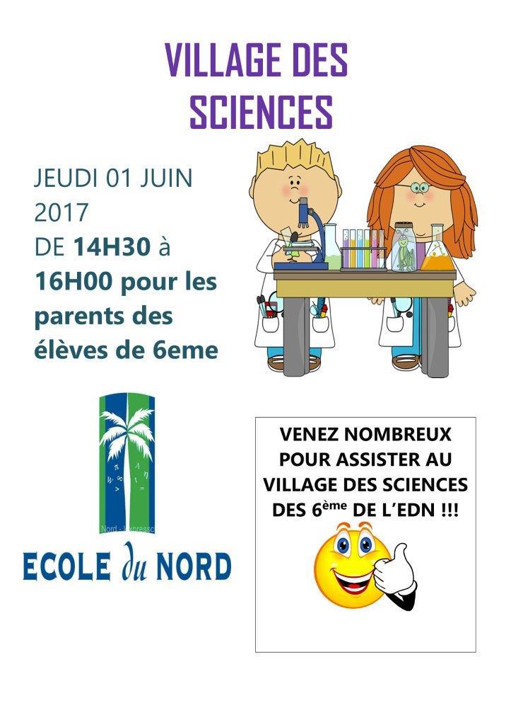 Flyer village sciences parents (2)