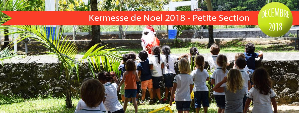 diaporama-actu-2018-2019-Kermesse de Noel 2018 - Petite Section