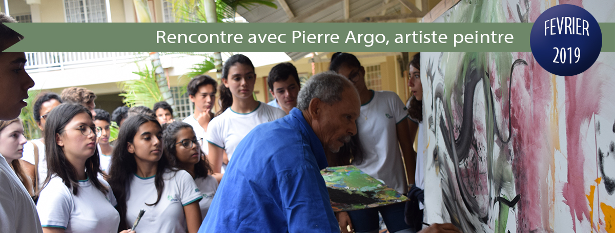 diaporama-actu-2018-2019-Rencontre avec Pierre Argo artiste peintre