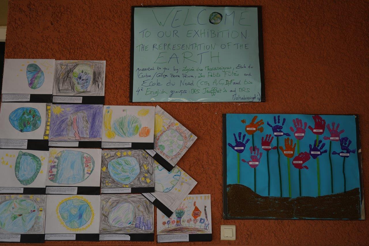 2019-exposition La representation de la Terre vue par les enfants (1)