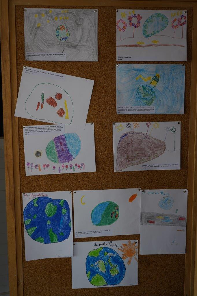 2019-exposition La representation de la Terre vue par les enfants (2)