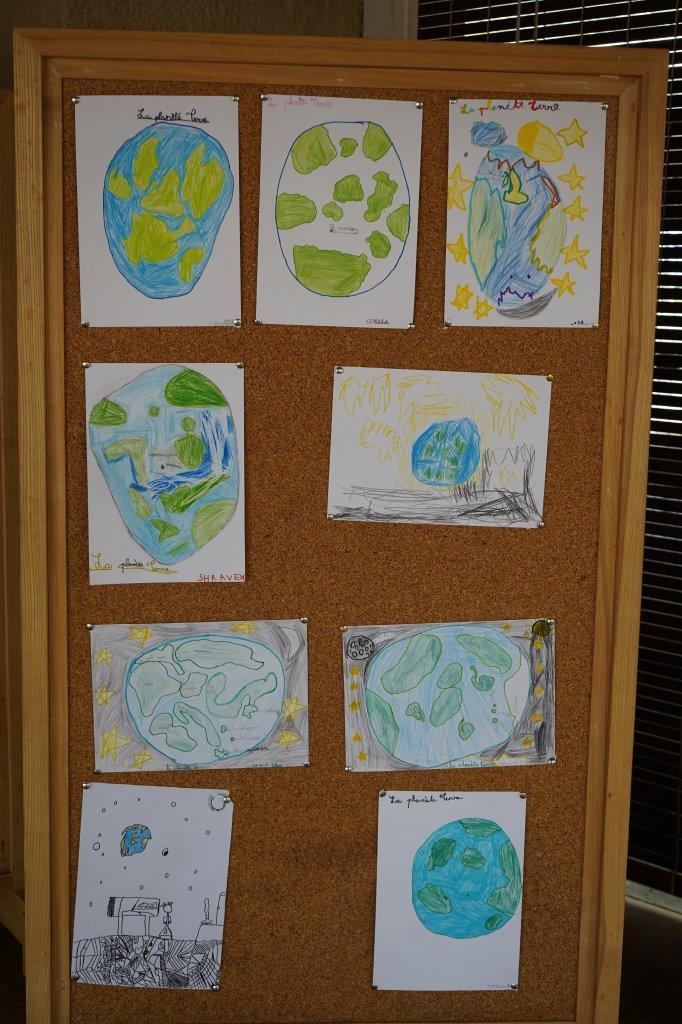 2019-exposition La representation de la Terre vue par les enfants (3)