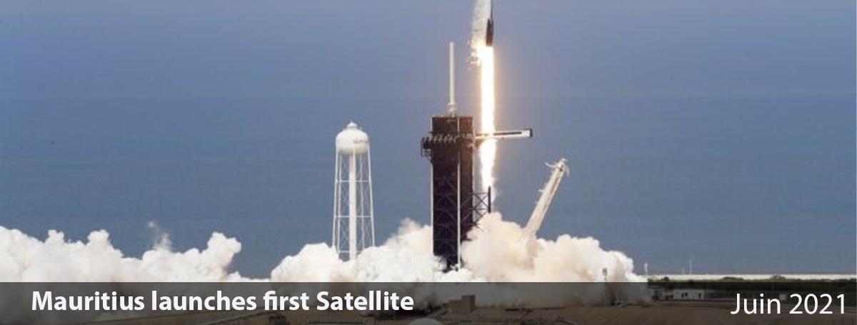 Mauritius launches first Satellite
