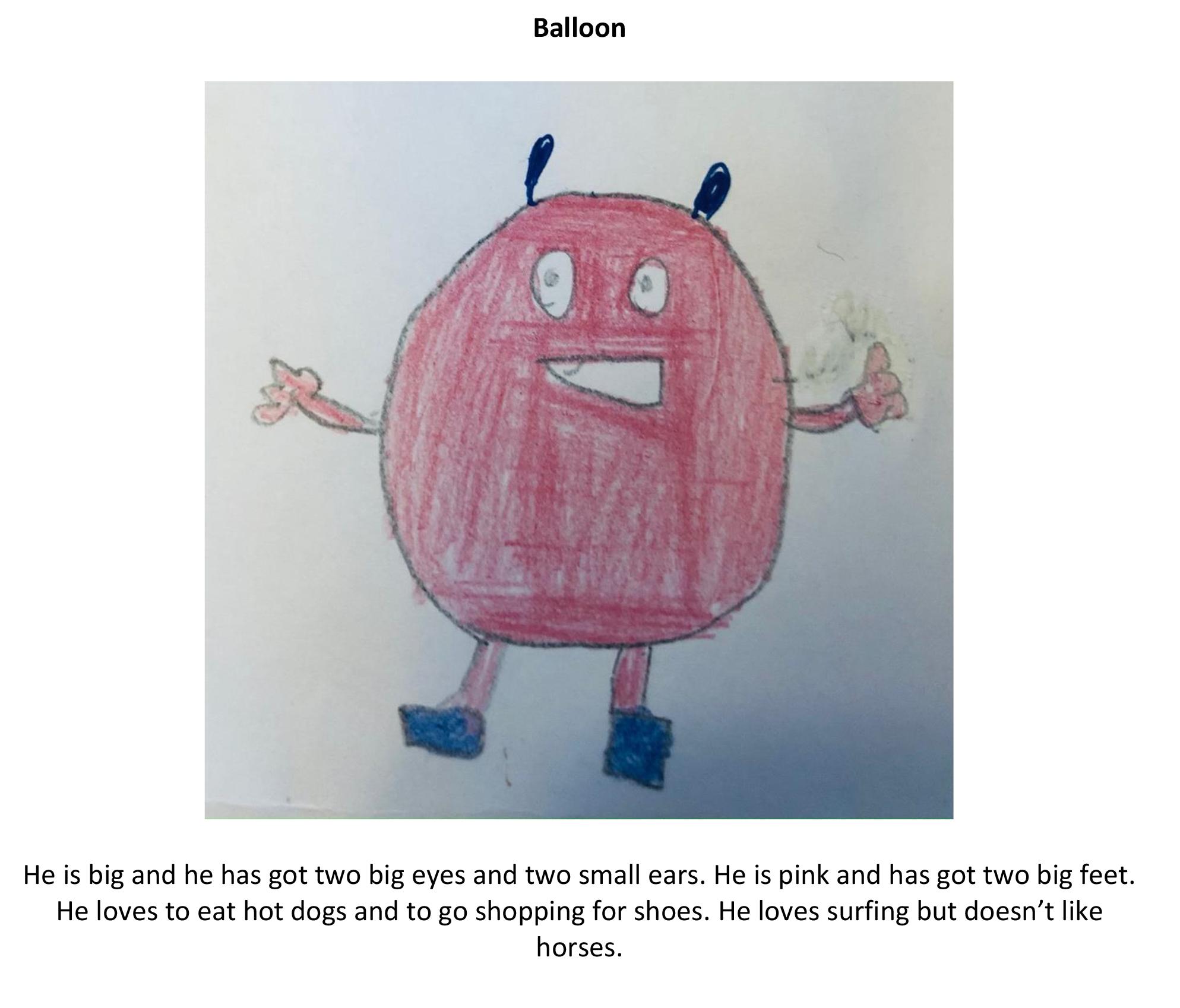 Monster Balloon Quentin